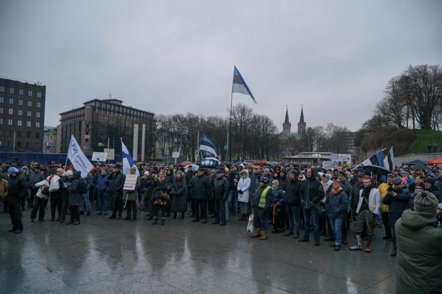 Migratsioonileppe vastane meeleavaldus