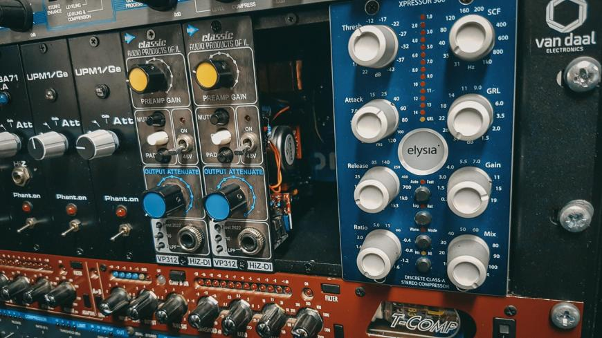 Retrosonic A26 ja A312 mikrofoni eelvõimendite test